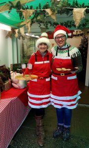 Hot drinks, home-made mince pies and jolly elves await you at Cuckoo Mill!