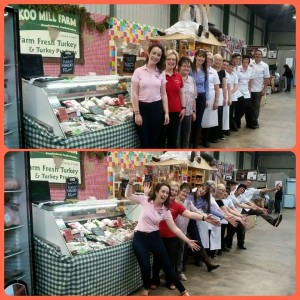 Team effort with Cuckoo Mill & The Welsh Bakery