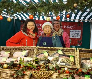 Polly, Sue & Judith @ Haverfordwest Farmers' Market