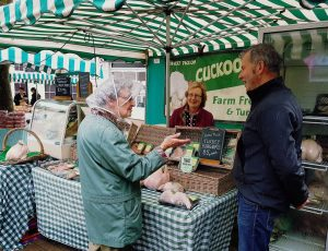 Martin & Julie @ Haverfordwest Farmers Market