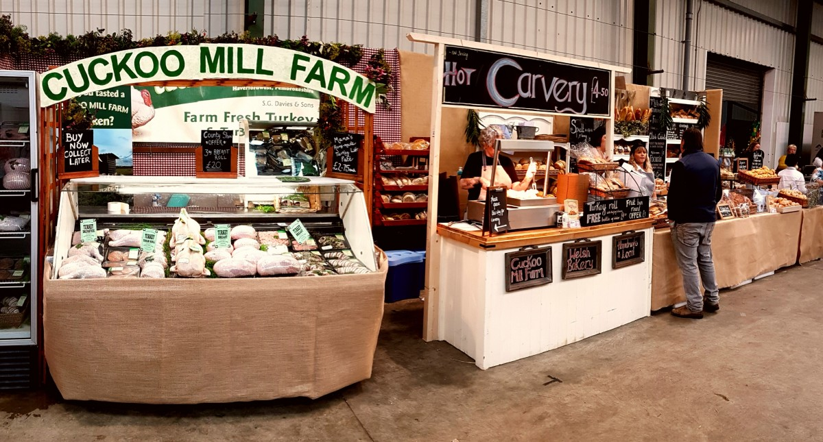 COunty Show stand